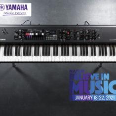 YAMAHA, les nouveautés du NAMM 2021