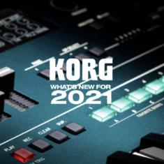 KORG, les nouveautés du NAMM 2021