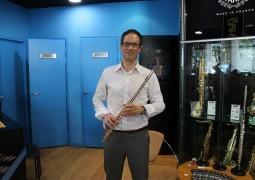 Richard Steinbusch (flûtes Pearl) – Interview